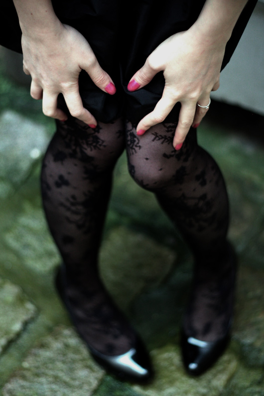 collants dentelle