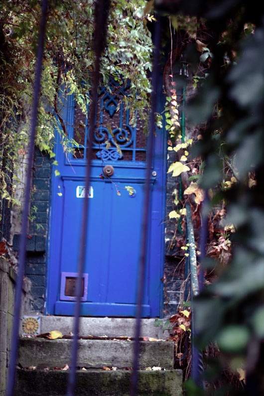 Paris zone bleue Porte-bleue