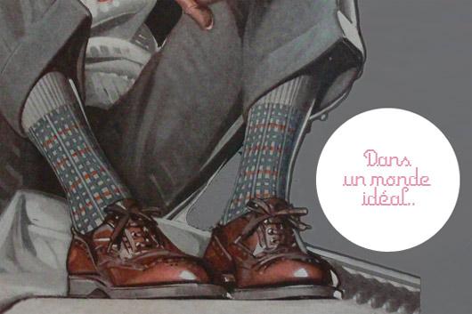 7dc3be38477 L homme et ses chaussettes