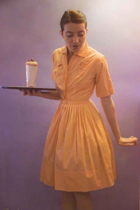 peach-vintage-dress