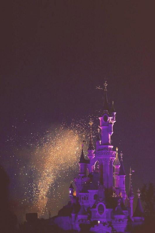 magic disneyland castle