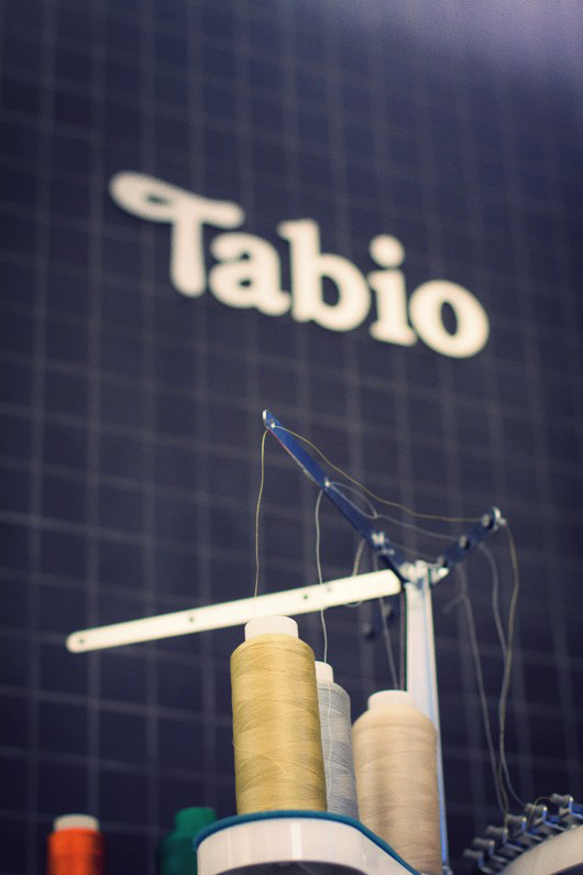 tabio thread embroidery