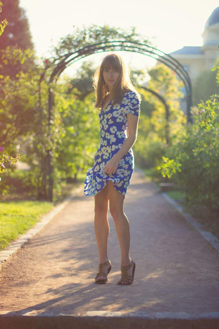 fleurs robe