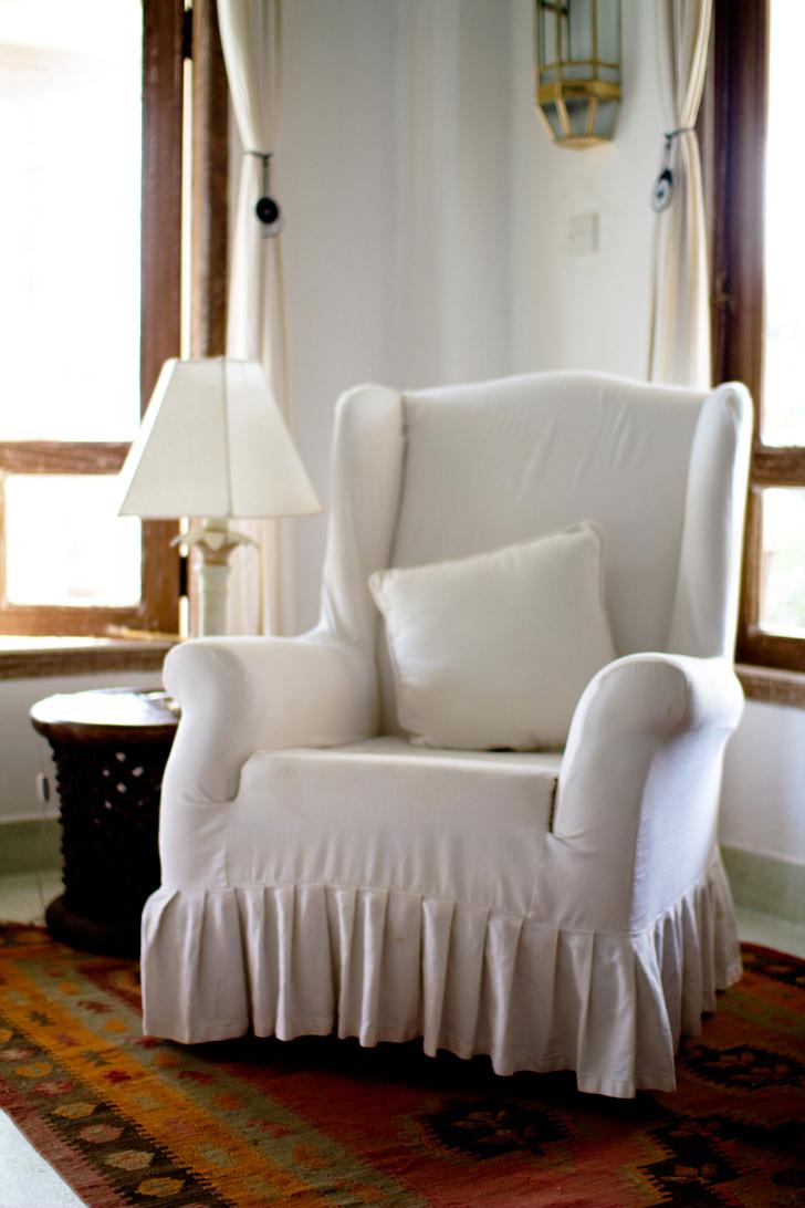 fauteuil blanc1