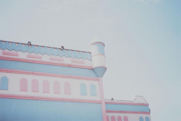 Le château de crème glacée