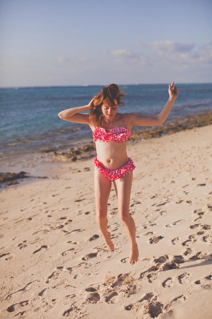 beach comber Dina Robin (42)