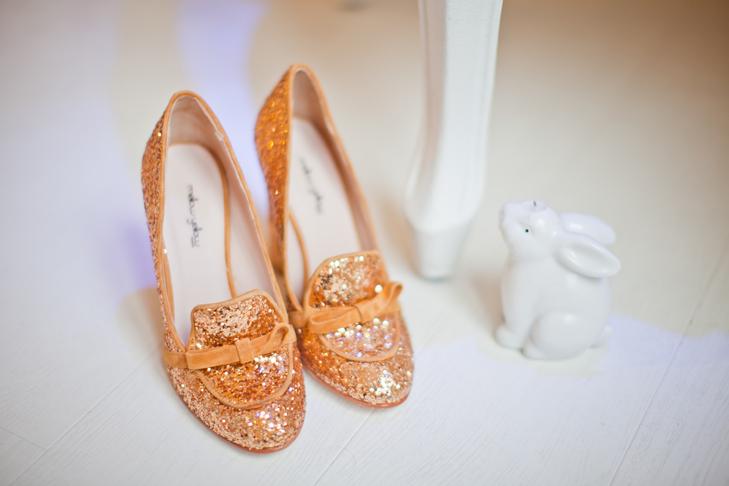 Chaussures à paillettes mellow Yellow c786c7dbf5b0