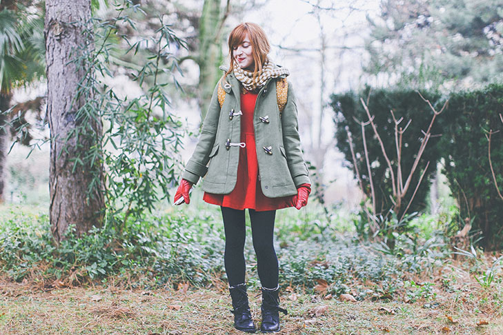 robe rouge kaki-29