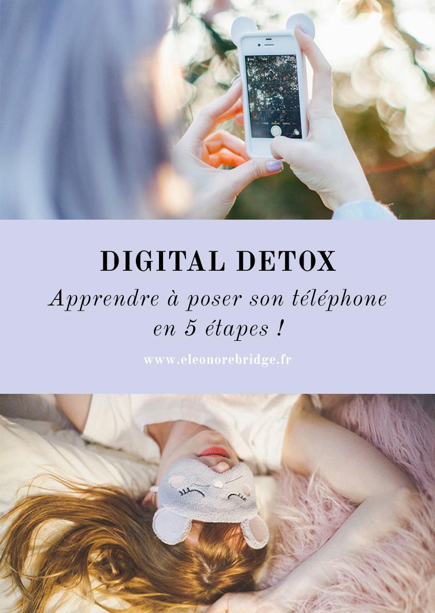 Comment lutter contre son addiction à facebook, twitter ou instagram, faire sa digital detox, apprendre à poser son téléphone pour retrouver du temps pour vivre !