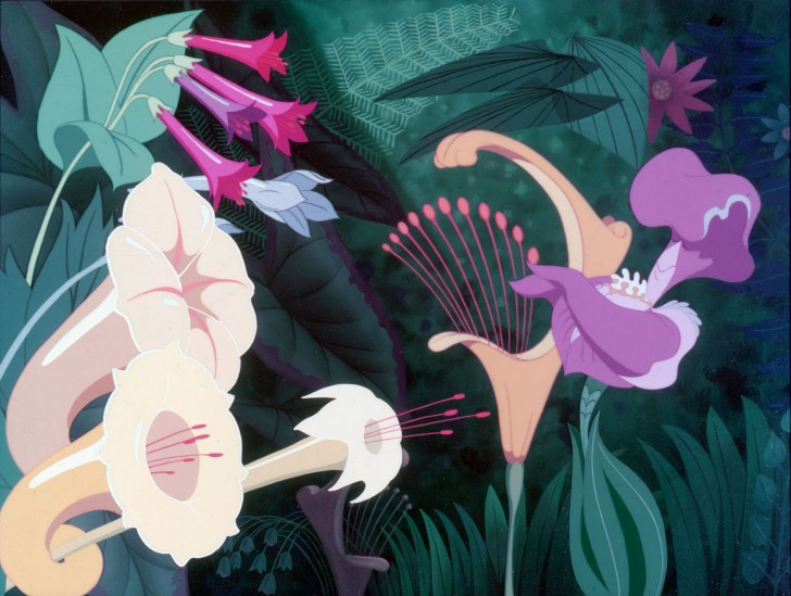 Disney Original Production Cel Flower
