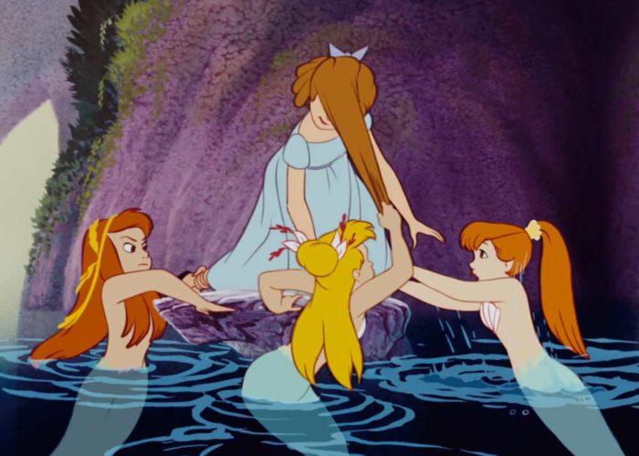 Peter Pan Sirene