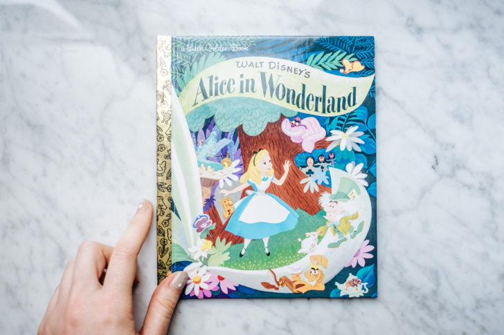 Alice in wonderland book-15