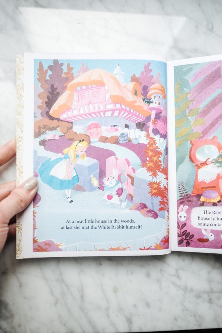 Alice in wonderland book-5