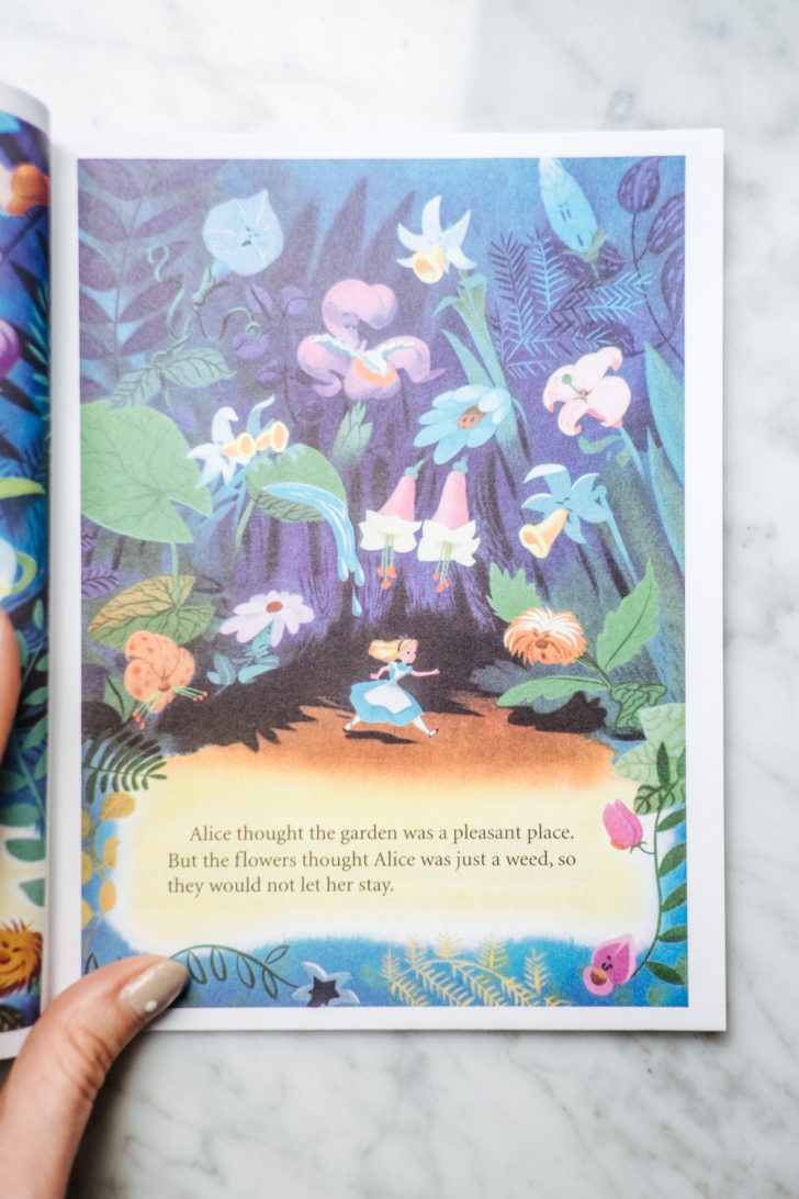 Alice in wonderland book-6