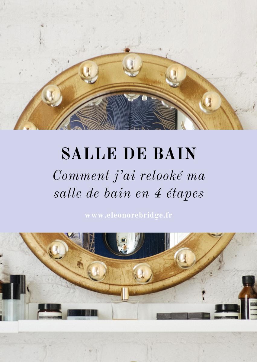 Meuble Salle De Bain En Teck Leroy Merlin ~ comment j ai relook toute ma salle de bain en 4 tapes eleonore