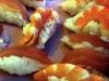 Sushis thon et crevette